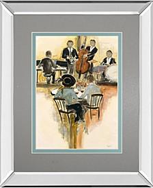 "All That Jazz II by Dupre Mirror Framed Print Wall Art, 34"" x 40"""