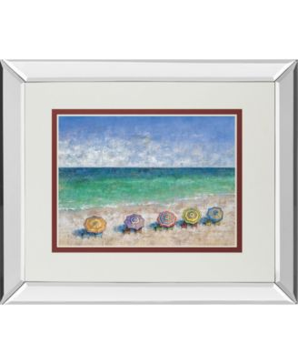 """South Shore II by Dominick Mirror Framed Print Wall Art, 34"""" x 40"""""""