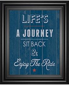 "Enjoy The Ride by Tom Frazier Framed Print Wall Art, 22"" x 26"""