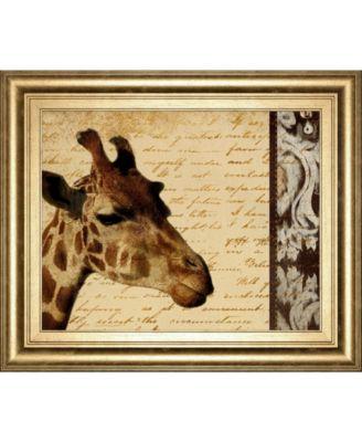 Madagascar Safari II by Patricia Pinto Framed Print Wall Art, 22