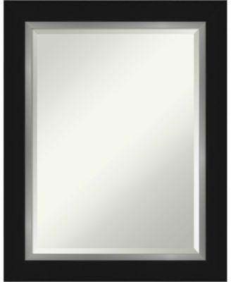 "Eva Silver-tone Framed Bathroom Vanity Wall Mirror, 23.25"" x 29.25"""