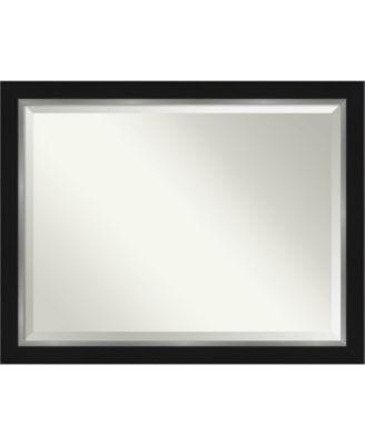 Eva Silver-tone Framed Bathroom Vanity Wall Mirror, 43.12