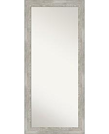 """Dove Framed Floor/Leaner Full Length Mirror, 29.88"""" x 65.88"""""""