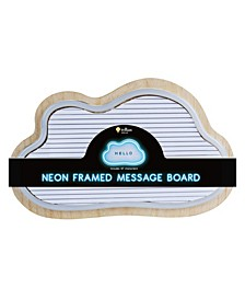 Cloud Shaped Neon LED Message Board