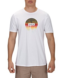 Men's Premium Smeared Out Graphic T-Shirt