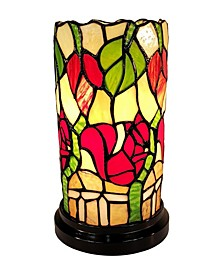 Tiffany Style Floral Mini Table Lamp