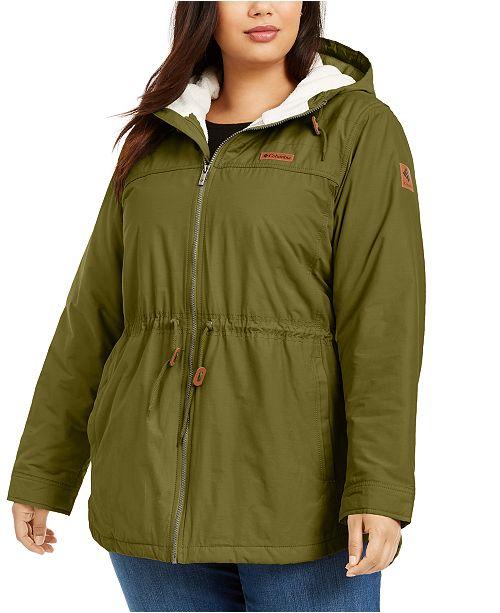 Columbia Plus Size Chatfield Hill Fleece-Lined Jacket