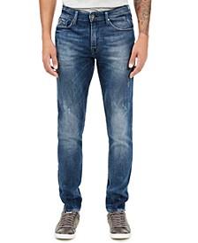 Men's Slim-Fit Tapered Jeans