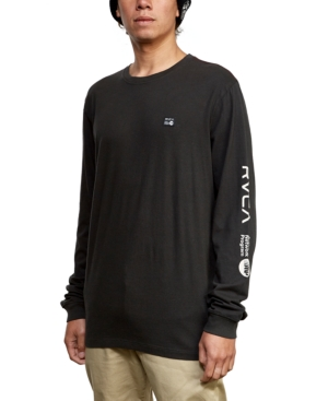 Rvca T-shirts MEN'S ANP LOGO GRAPHIC T-SHIRT