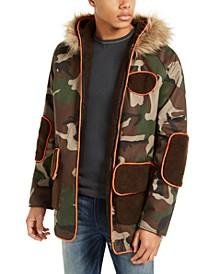 Men's Hooded Camo Jacket