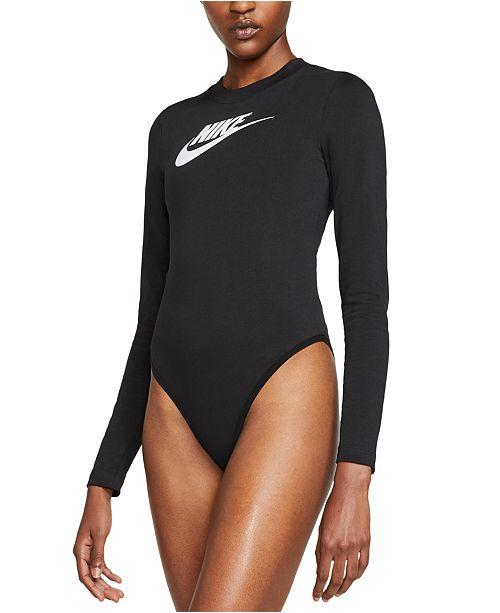 Nike Women's Sportswear Heritage Long-Sleeve Bodysuit