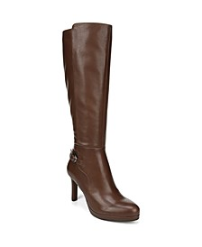 Tai Wide Calf High Shaft Boots