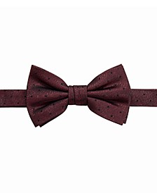 Men's Foster Pre-Tied Dot Bow Tie, Created For Macy's