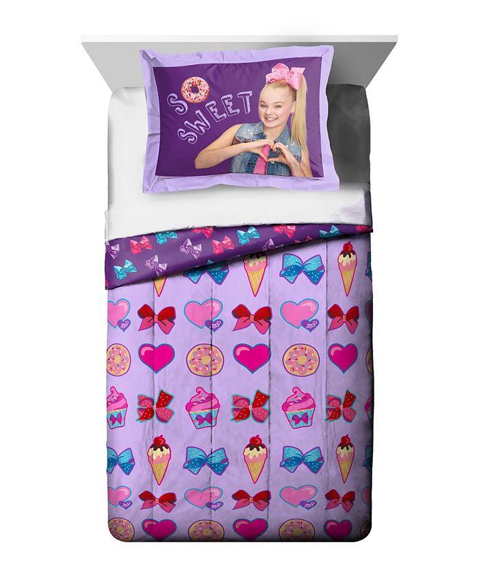 Jojo Siwa - JoJo Siwa Reversible Twin/Full Comforter Set