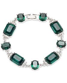 Pavé & Stone Flex Bracelet