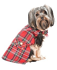 Tartan Fringe Dog Dress