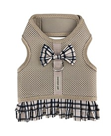 Plaid Harness Dog Dress
