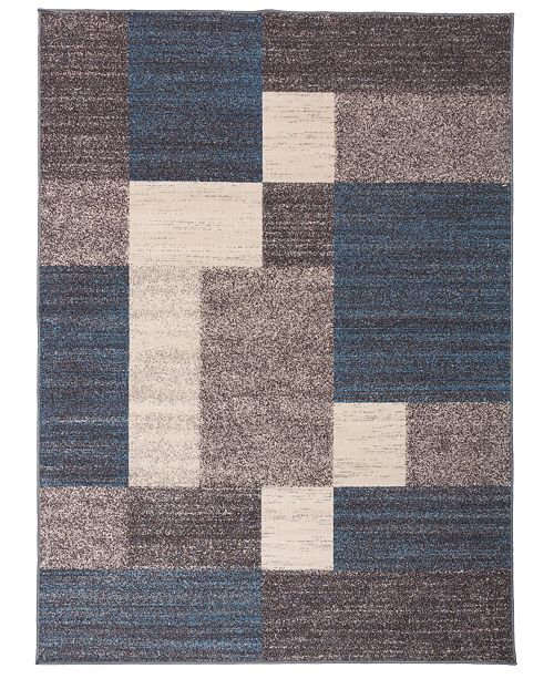 Main Street Rugs  Home Laicos Lai506 Blue Area Rug Collection