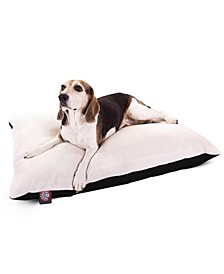 Poly - Cotton Twill Sherpa Pillow Dog Bed