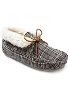 Plaid Chrissy Bootie Slipper
