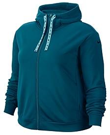 Plus Size Therma Fleece Zip-Up Training Hoodie