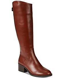 INC Women's Cerie Wide-Calf Riding Boots, Created For Macy's