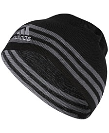Men's Eclipse Striped Reversible Beanie