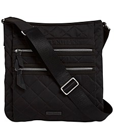 Performance Twill Iconic Triple Zip Hipster Crossbody
