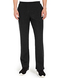 Men's Open-Hem Fleece Sweatpants, Created for Macy's