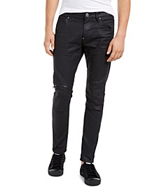Men's Elwood Zip-Knee Skinny Jeans, Created For Macy's