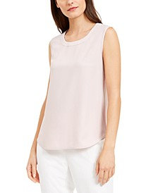 Scoop-Neck Shell Top