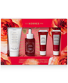 Korres 4-Pc. Natural Greek Brightening Essentials Gift Set
