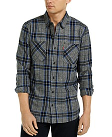 Men's Crance Plaid Flannel Shirt