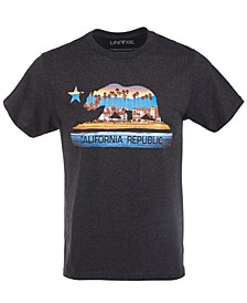 Men's California Bear Boardwalk Graphic T-Shirt