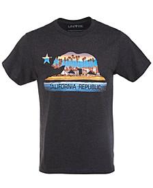 Men's California Bear Boardwalk Graphic T-Shirt