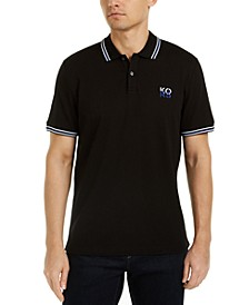 Men's Stacked Logo Polo Shirt