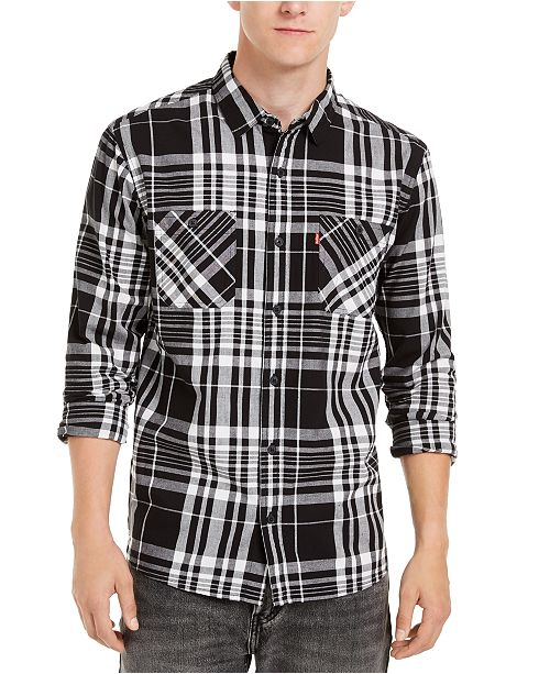Levi's Men's Noble Plaid Shirt