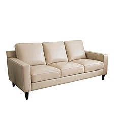 "Jagger 83"" Leather Sofa"