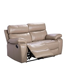 Alexander Leather Recliner Loveseat