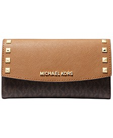 Karla Leather Trifold Wallet