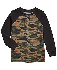 Little Boys Camo-Print Thermal T-Shirt, Created For Macy's