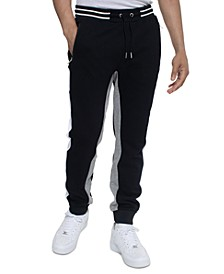 Men's Colorblocked Jogger Pants