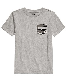 Big Boys Camo-Pocket T-Shirt, Created For Macy's