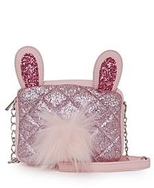 Glitter Bunny Crossbody