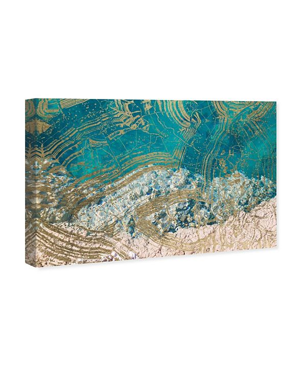 "Oliver Gal Salt Water Canvas Art, 15"" x 10"""