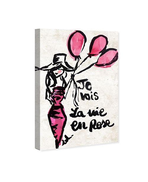"Oliver Gal La Vie En Rose Canvas Art, 16"" x 24"""