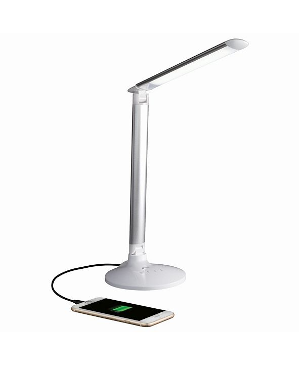 OttLite Command Led Desk Lamp with Voice Assistant Works with Google Home and Amazon Alexa