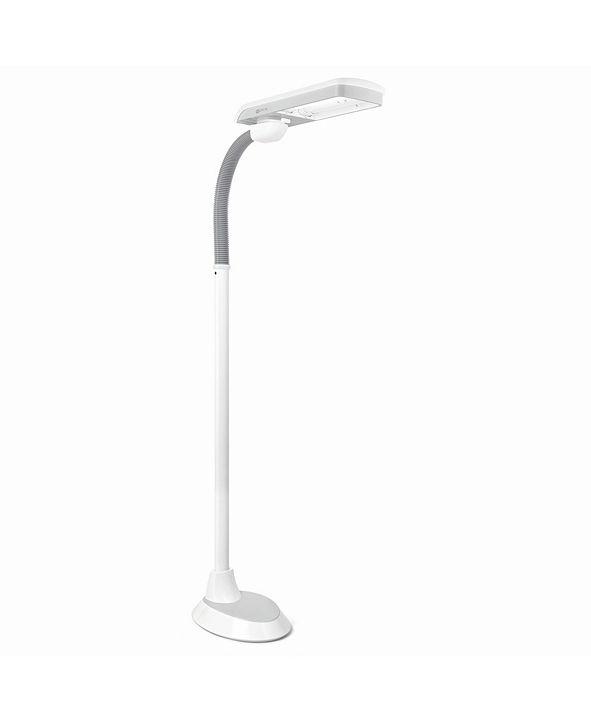 OttLite 36W Pivoting Shade Floor Lamp