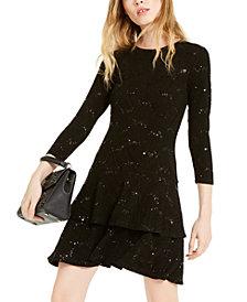 Michael Michael Kors Jacquard Tiered Dress, Regular & Petite