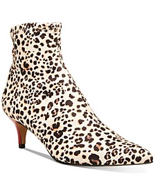 Verona Kitten-Heel Booties